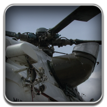 Engine exhaust shields - The device to reduce helicopter heat emitting BNT-EES