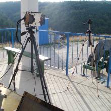 Self-developed equipment for testing of Flares at test sites BNT-EQ