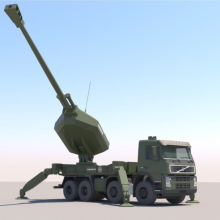 Unmanned automated howitzer system - balkannovoteh
